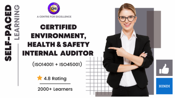 Internal Auditor - EHS (ISO14001:2015 & ISO45001:2018)
